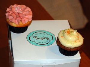 Trophy's Strawberry Lemonade and Carrot Cake