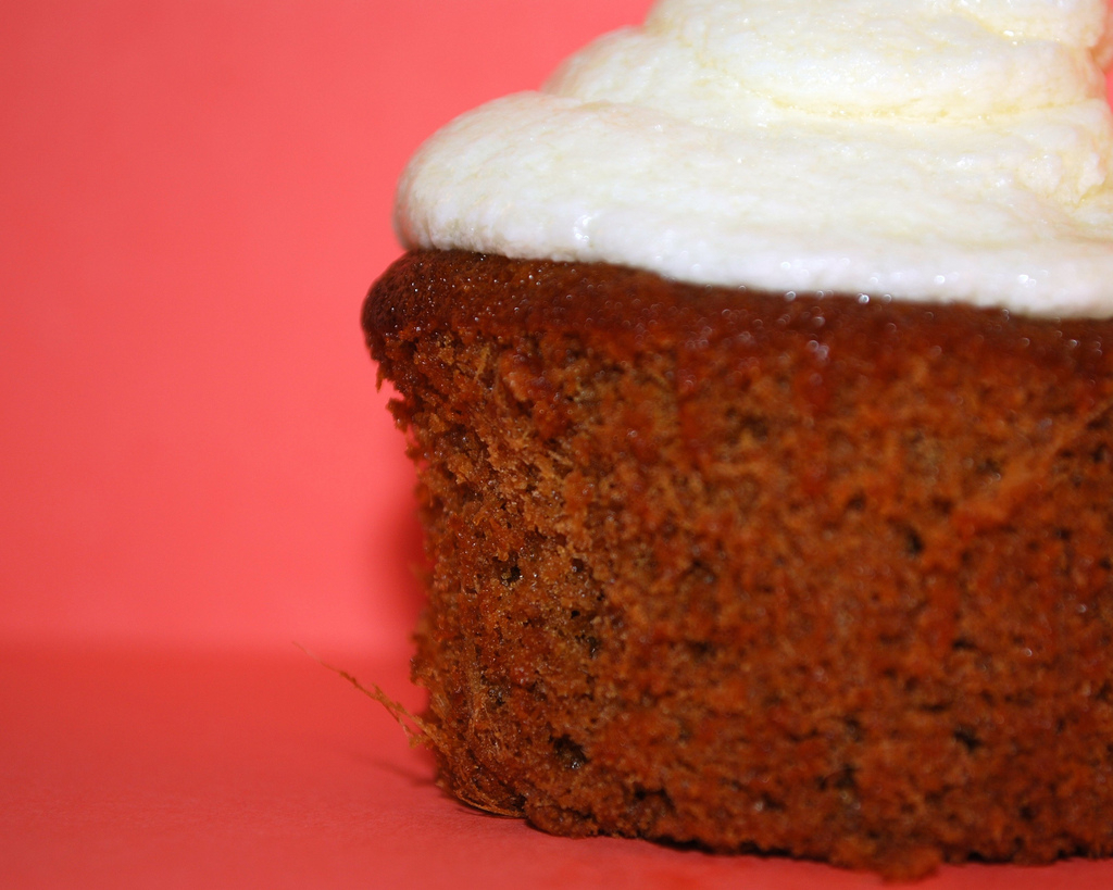 Ginger Molasses Cupcakes with Fluffy Lemon Icing from Mrs Shuck | The ...