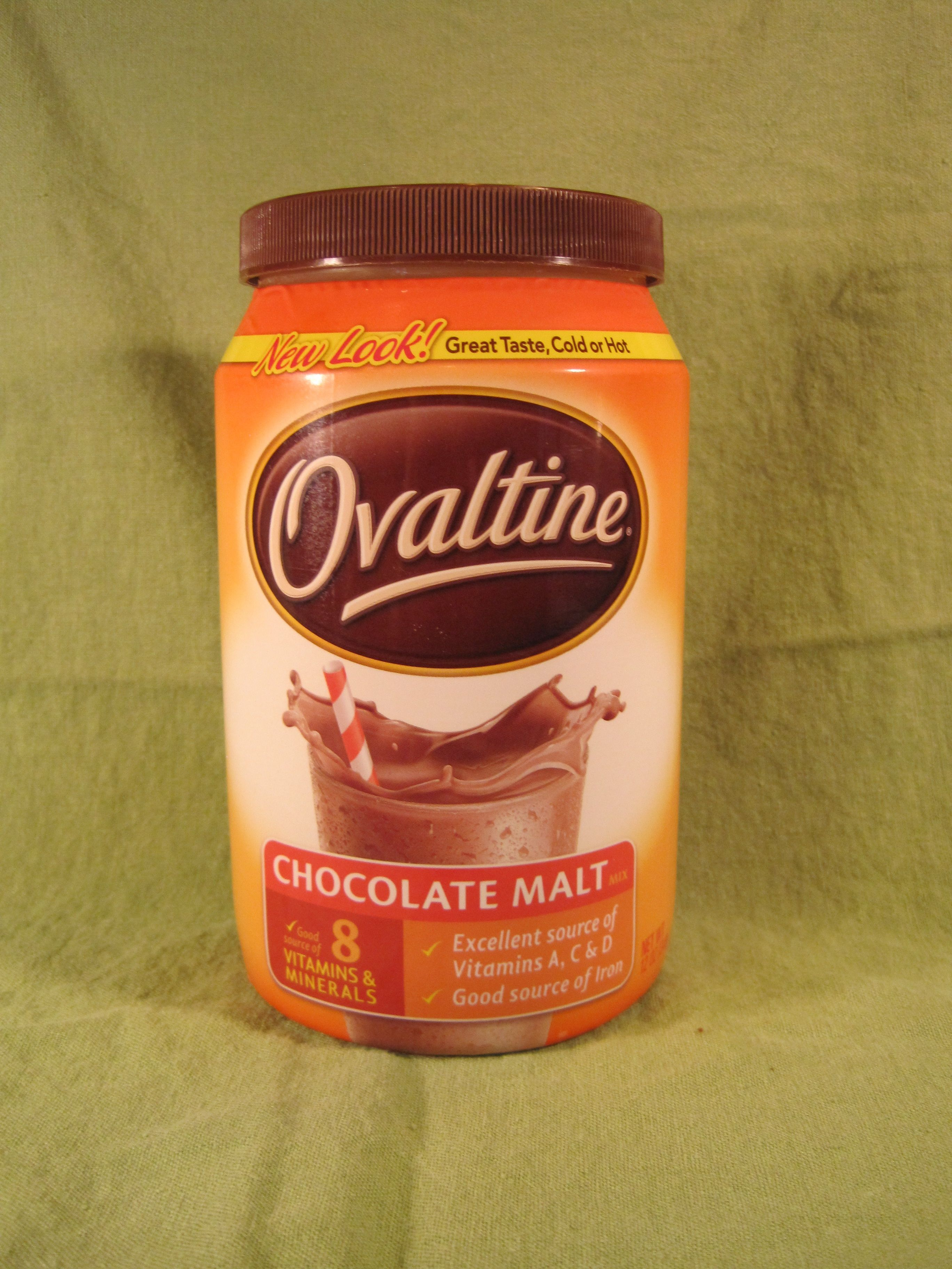 O is for Ovaltine   The Cupcake Addict's Cupcake Collection